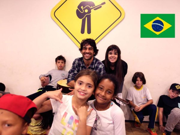 Escola Playing For Change no Brasil